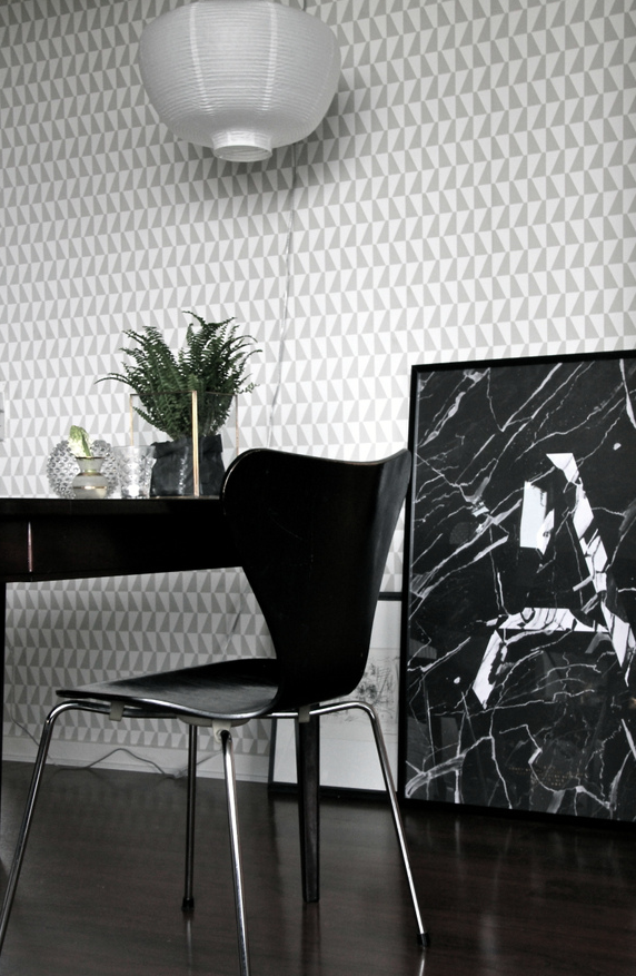 Arne Jacobsen wallpaper tapet