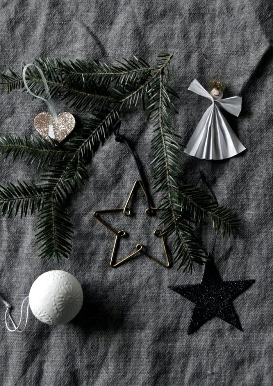 Christmas tree decorations // heidihallingstad.com