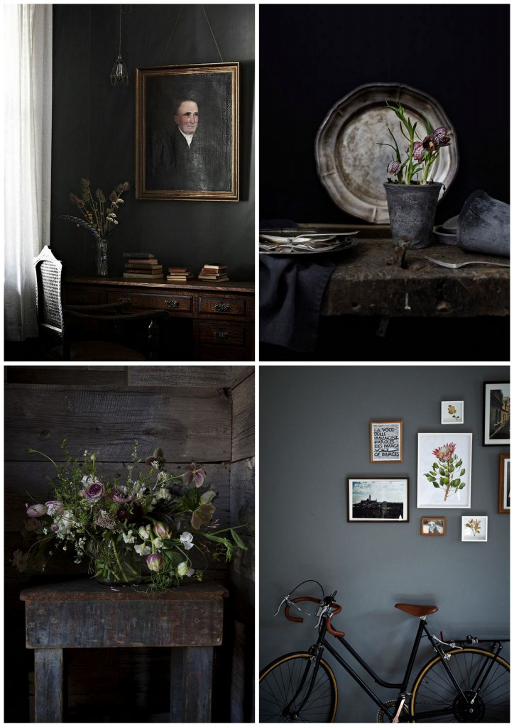 Pinterest inspiration / Dark flower / heidihallingstad.dk