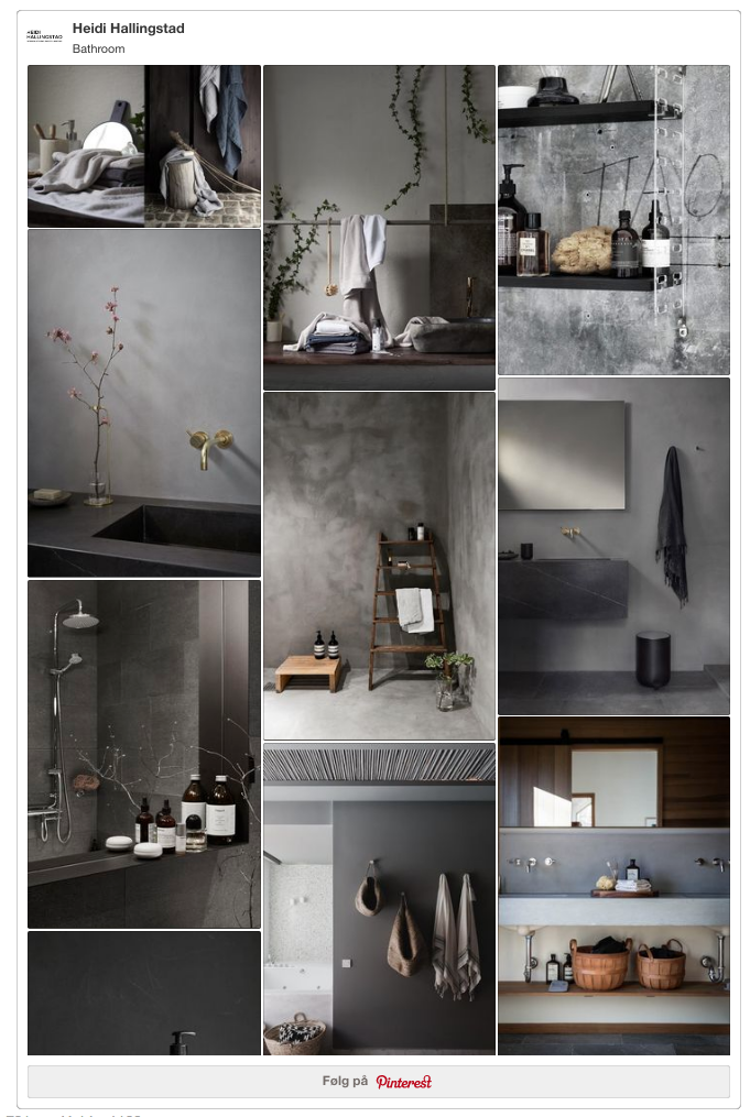Bathroom inspiration Pinterest // heidihallingstad.com