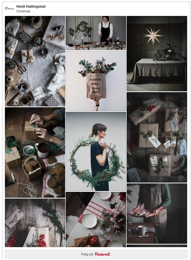 Pinterest Christmas inspiration // heidihallingstad.com